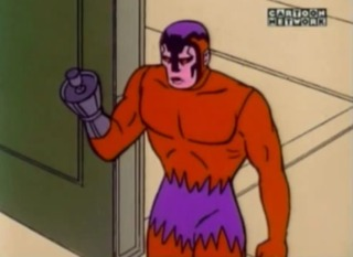Klaw's first animated appearance
