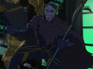 Corvus in the animated series
