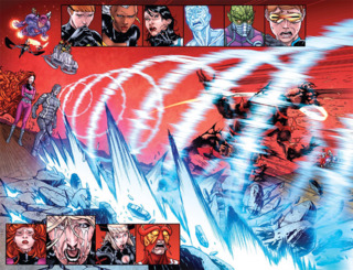 Cyclops is seemingly killed by Black Bolt