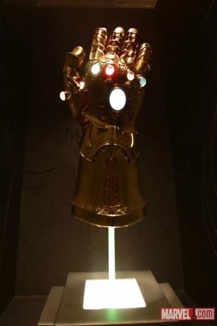The Replica Infinity Gauntlet in Odin's vault