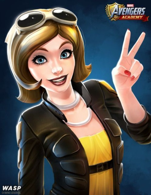 Wasp in Avengers Academy