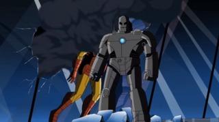 Tony in his original suit