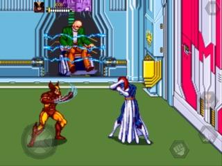 Mystique in the arcade game