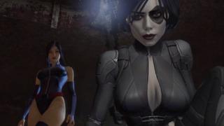 Domino with Psylocke