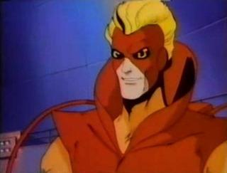 Pyro in the X-Men pilot