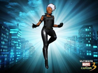 Storm in Ultimate Marvel vs. Capcom 3