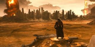The Omega sign in Batman v. Superman