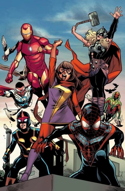 The All-New, All-Different Avengers