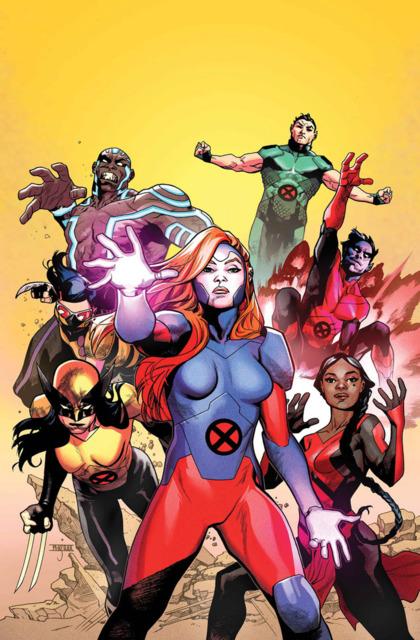 Namor as a member of Jean's X-Men