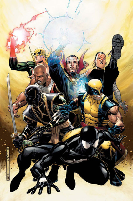 The New Avengers after Civil War