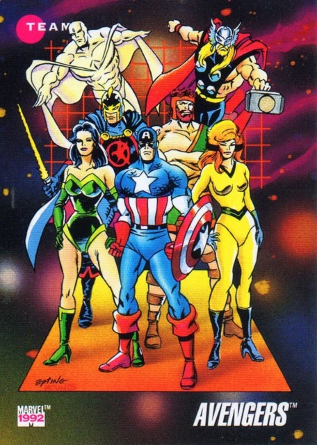 The Avengers of the early 90s