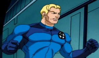 The Human Torch in the animated universe