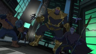The team in Avengers Assemble