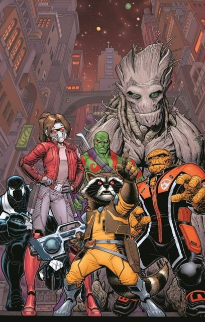 Ben as a member of the Guardians of the Galaxy