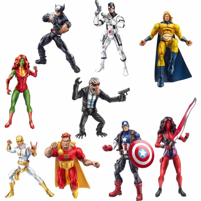 The Marvel Legends wave
