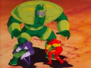 Titanium Man in the 90s show