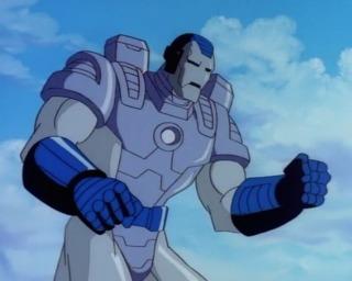 War Machine in the 90s cartoon