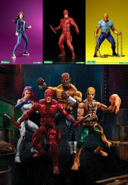 Kotobukiya and Marvel Legends
