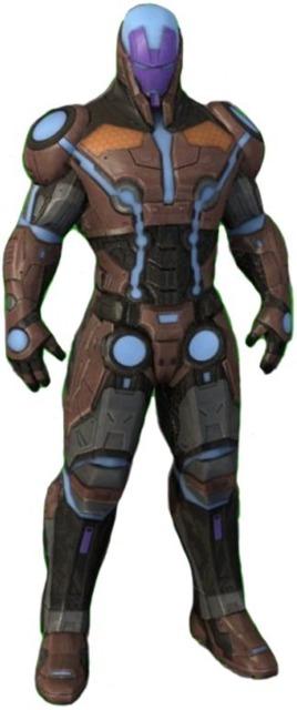 Living Laser in Iron Man 3