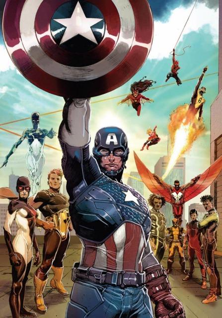 Cap's new uniform and team