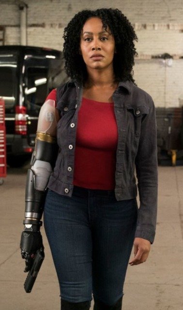Simone Missick as Misty Knight