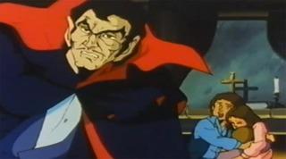 The Dracula anime