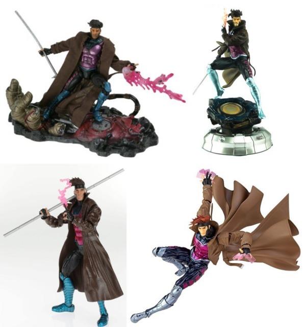 From ToyBiz, Kotobukiya, Hasbro and Kaiyodo