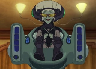 Minerva in the animated series