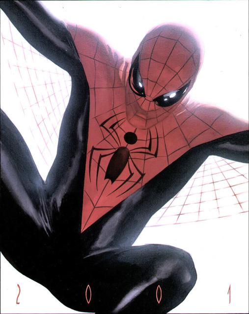 Alex Ross' Spider-Man movie design