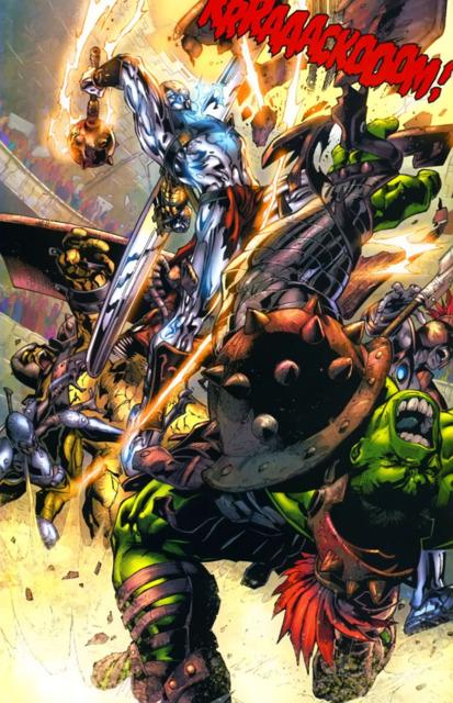 Hulk vs. Silver Savage