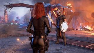 Taskmaster faces Black Widow