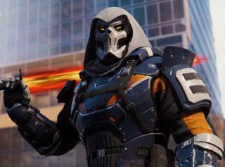 Taskmaster in Spider-Man 2018
