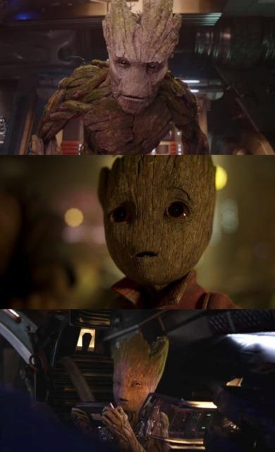 Groot in the films