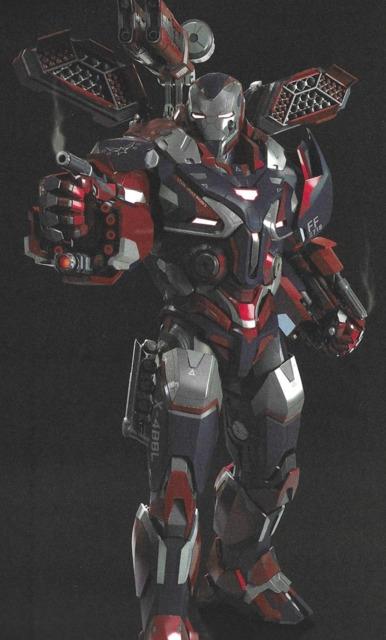 The Iron Patriot armor in Endgame