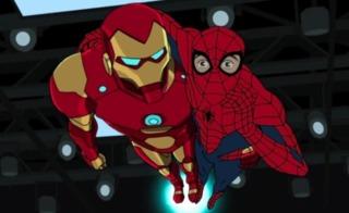 Iron Man and Spidey