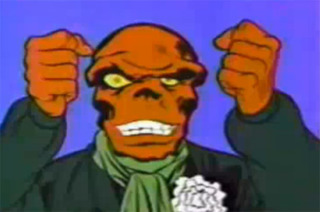 Red Skull in The Marvel Super Heroes