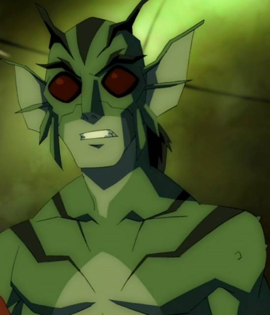 Lagoon Boy in Young Justice