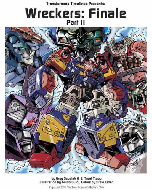 Transformers Timelines Presents; Wreckers: Finale Part II