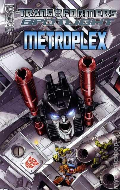 Transformers Spotlight: Metroplex