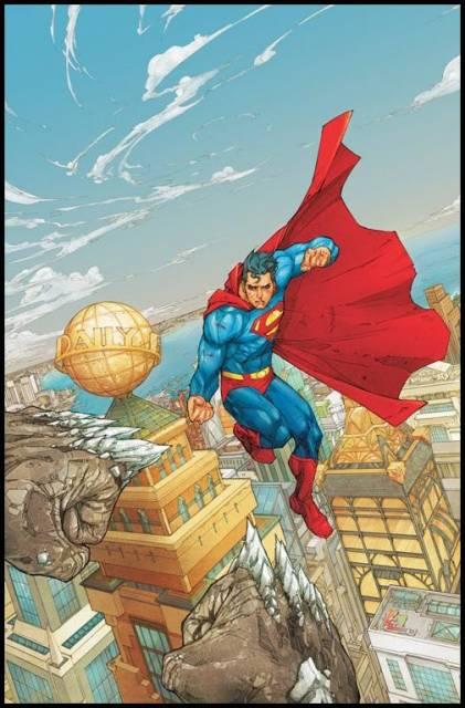 Superman's modern look in Action Comics #902