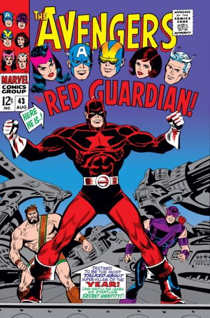 Color Him -- The Red Guardian