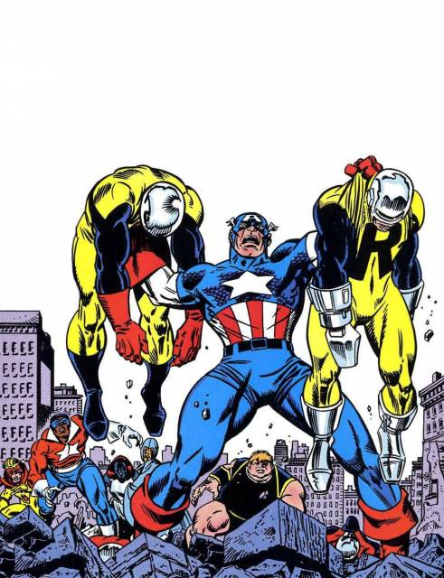 Walker with Freedom Force