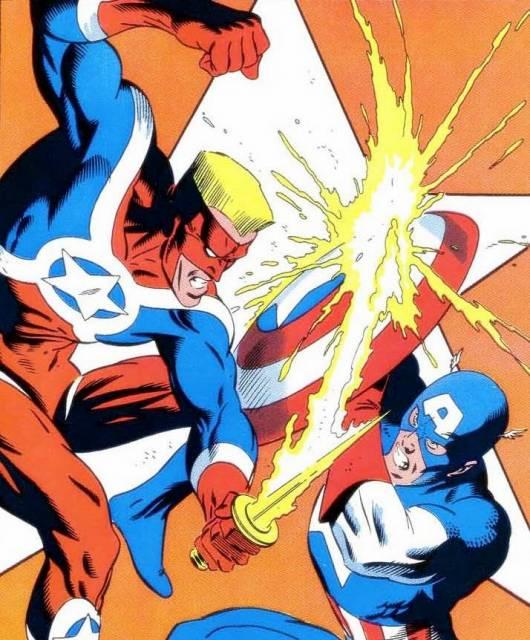 Captain America vs. Super-Patriot