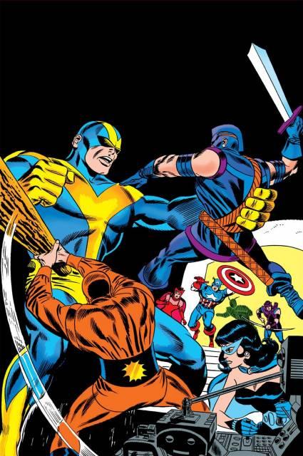 Power Man and Swordsman vs the original Goliath
