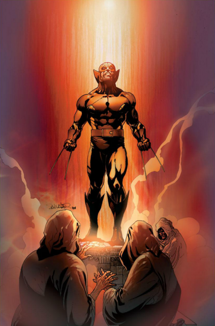 Daken worshipped by the Norns