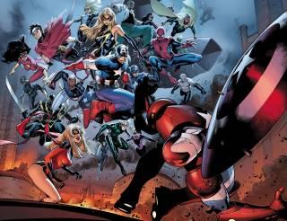 Avengers vs. Osborn by Olivier Coipel