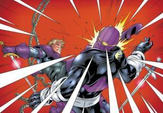 Swordsman vs. Zemo by Tom Grummett