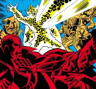 Two-Gun Kid and the Avengers see the extent of Korvac's power