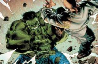 Temujin vs. the Hulk