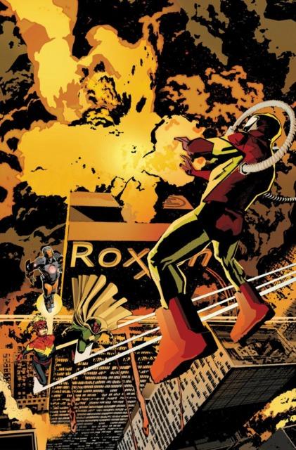 Sunturion goes on an anti-Roxxon rampage
